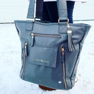 Vilah Bloom Cafe Crossover Diaper Bag