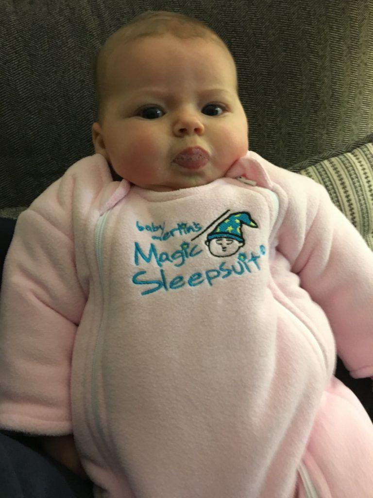baby merlins magic sleepsuit