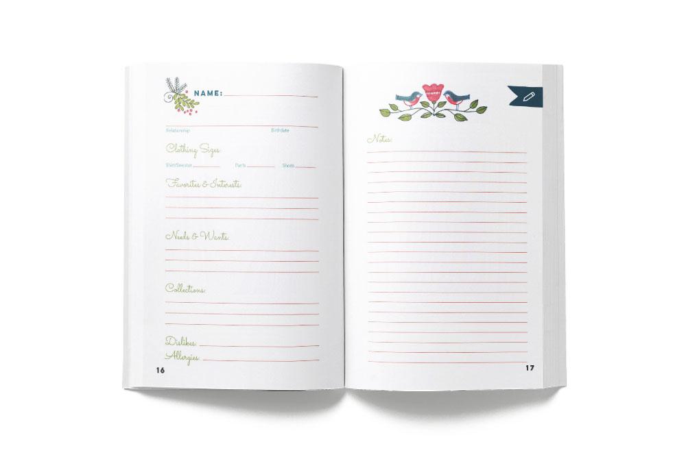 the nice list Christmas planner
